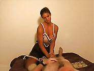 Strong Bodybuilder Lady Was Wanking My Friend...