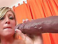Gorgeous Babe Lets Out A Moan As A Big Black ...