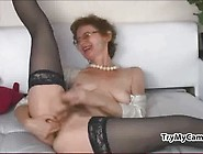 Hot Mom In Stockings At Trymycam. Com