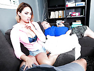 Latina Sex Tapes - Busty Stepsister Gets Caug...