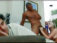 Blonde White Wife Cheats On Husband With Blac...