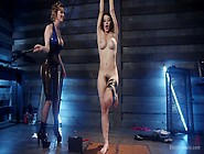 Electro Punishment For Busty Whore Raven Rock...