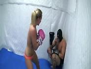 Hard Punching Girl Easily Beats Up Man