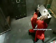 Secretary Caught By Prisoners And Forced To S...