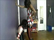 Mistress Fucks Sissy Slave
