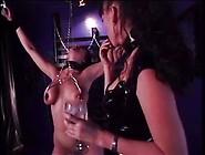 Painful Torture For A Brunette Slut