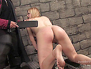 Danielle Gets Whipped And Brutally Fucked Fro...