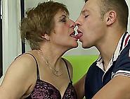 Extreme Horny Hairy German Grandma Enjoys Her...