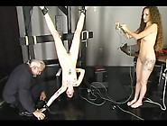 Tattooed Girl In First Bdsm Experience