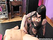 Cheap Whore Gets Femdom Pegging From Miss May...
