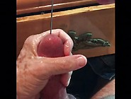 Urethral Sounding Using Milked Cum For Lube