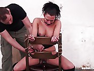 Vixen Bound Gagged Stripped Spanked And Whipp...