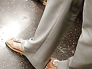 Candid Feet Train Ride Compilation
