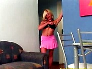 Blonde Gets Crazy Monster Cock Oral And In Pu...
