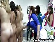 Sexy College Teens Exercise Naked