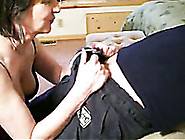 Greedy Mother-In-Law Slurps On My Thick Dick ...