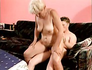 Saggy Tit Grandma Sucks His Dick And Gets On ...