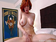 Sex Starved Red-Haired Mom Veronica Avluv