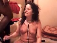 White Girl Slave To Big Black Cock