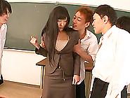 Marvelous Miku Sunohara Gets Gangbanged By Ev...