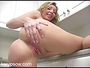 Naked Housewife With Great Tits Hangs Out In ...