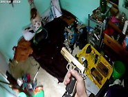 Shot In The Butt With An Airsoft Gun!