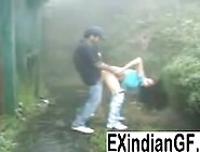 Indian Girl Giving Head And Getting Fucked Ou...