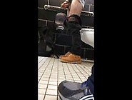 Caught A Guy Jacking Off In The Next Bathroom...