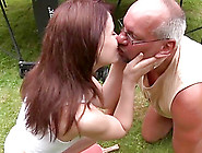Fucked By Old Man In Her Pussy And Mouth She ...