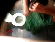 Bangla Desi Neighbor Aunty Bathing & Toilet H...