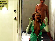 Horny Nurse Gets Pounded By A Mental Patient&...