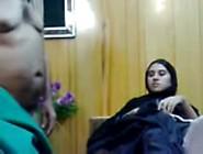 Pakistani Hijab Girl Takes In Little Dick