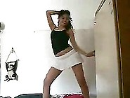 Sexy Bedroom Dance With A Naughty Teen