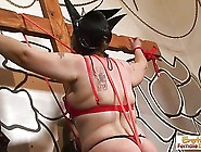 Gilf Bondage,  Hoods,  And Ass-Whipping Sexin...