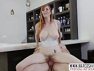 Redhead Step Mother Lauren Phillips Gets Crea...