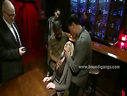 Blonde Secretary Drugged Then Perverted In Or...
