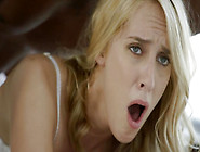 Blonde Milf In Sexy White Lingerie Cums On Ma...