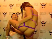 Adriana Chechik Gives A Fan Lap Dance Then Sq...
