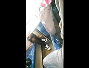Candid Wearing Converse During Train Journey