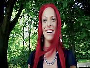 Bums Bus - Wild German Redhead Enjoys Public ...
