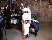 Two Girls Tape Mummification And Gag With Wit...