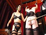 Cybill Troy And An Li - Sissy Cane Discipline