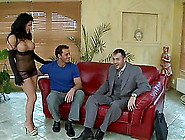Busty Brunette Dolls Up In Order To Seduce A ...