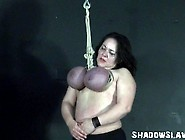 Andreas Tit Hanging And Extreme Mature Breast...