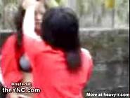 Asian Girl Beaten Stripped