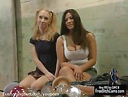 Girls Shove All Sorts Of Weird Objects Into T...