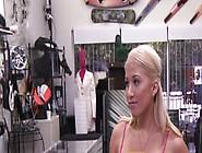 Pawnshop Babe Doggy Styled On Spy Cam After B...