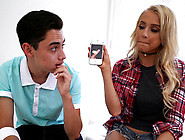 Alix Lynx Finds Cock Pics On Her Sisters Phon...