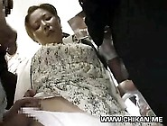 Shy Teen Groped And Molested In A Crowded Tra...