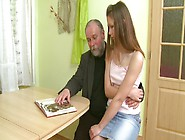 Charming Teen Naomi Having Sex With An Old Gr...